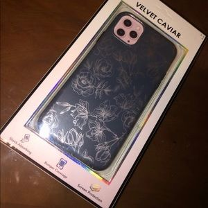 iPhone 11 Pro Max Case / Floral Rose Gold